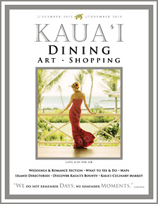 Kauai Dining and Shopping Magazine