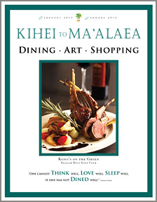 Kihei Dining and Shopping Magazine