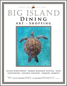 Big Island Dining and Shopping Magazine