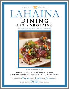 Lahaina Dining and Shopping Magazine